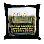 typewriterwriter Throw Pillow