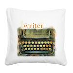 typewriterwriter Square Canvas Pillow