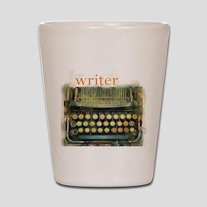 typewriterwriter Shot Glass