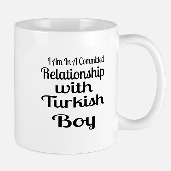 I Am In Relationship With Turkis Mug
