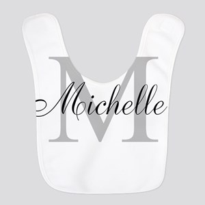 Personalized Monogram Name Bib