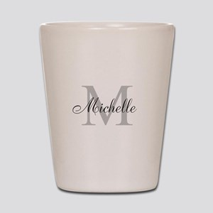 Personalized Monogram Name Shot Glass