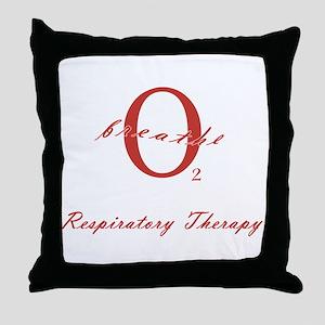 Respiratory Therapy - Athleti Throw Pillow