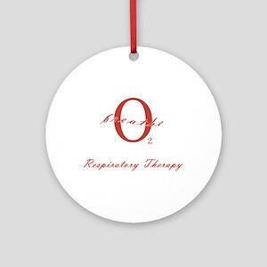 Respiratory Therapy - Athleti Ornament (Round)