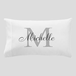 Personalized Monogram Name Pillow Case
