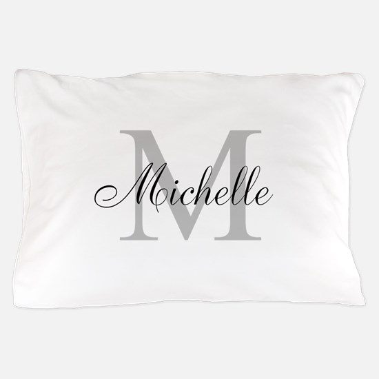 Personalized Monogram Name Pillow Case