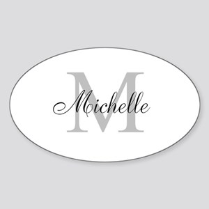 Personalized Monogram Name Sticker