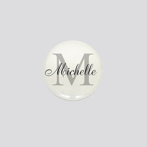 Personalized Monogram Name Mini Button