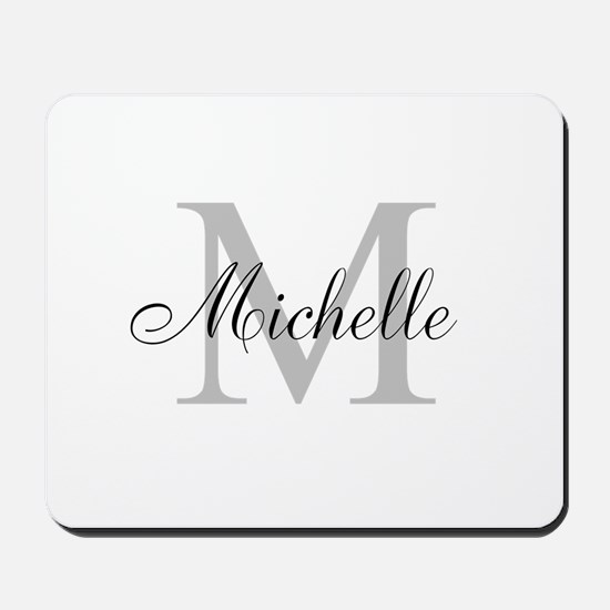 Personalized Monogram Name Mousepad