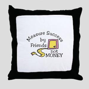 Measure Success Throw Pillow