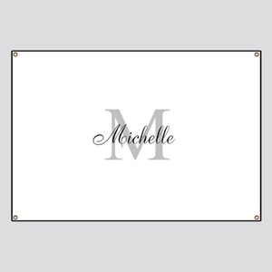 Personalized Monogram Name Banner