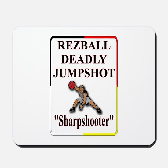 RezBall Deadly Jumpshot Mousepad