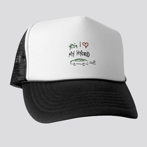 Hybrid Car Trucker Hat