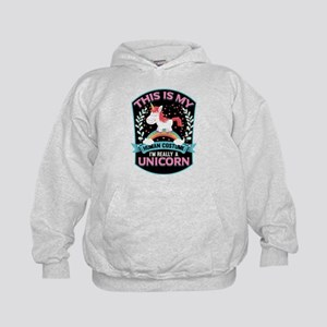 Rounded Square Kids Hoodie