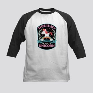 Rounded Square Kids Baseball Jersey
