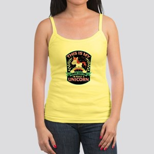 Rounded Square Jr. Spaghetti Tank