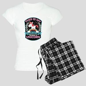 Rounded Square Women's Light Pajamas