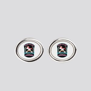 Rounded Square Oval Cufflinks