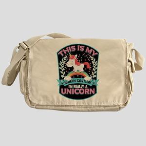 Rounded Square Messenger Bag
