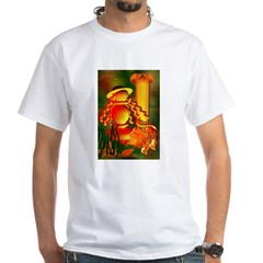 Tarot Strength White T-Shirt
