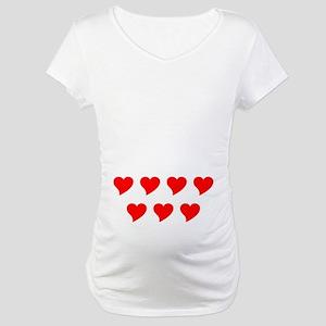 Seven Hearts Maternity T-Shirt