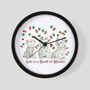 Bowl of WestHighlands Wall Clock