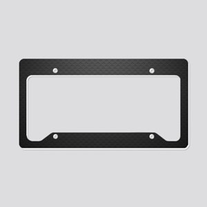 Metal Texture License Plate Holder