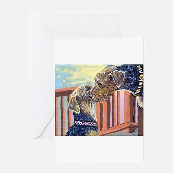 springloveprint2 Greeting Cards