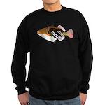 White-Banded LagoonTriggerfish C Sweatshirt