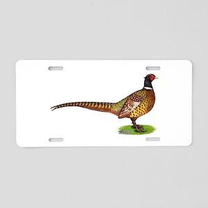 Proud Ringneck Pheasant Aluminum License Plate