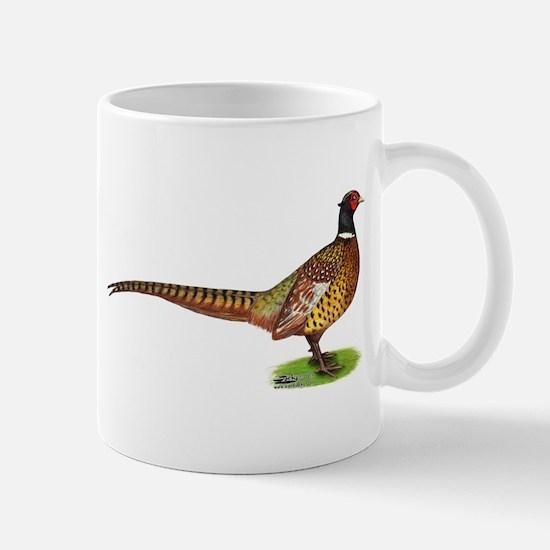 Proud Ringneck Pheasant Mugs