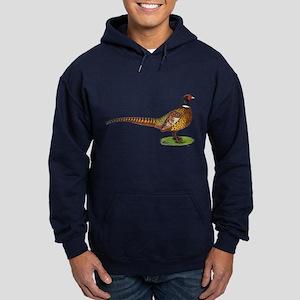 Proud Ringneck Pheasant Hoodie (dark)