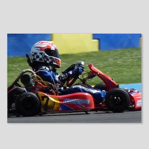 Kart Racer Postcards (Package of 8)