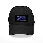 Blues on Blue Black Cap
