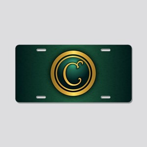 Irish Luck C Aluminum License Plate