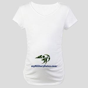 myMilitaryDates Maternity T-Shirt