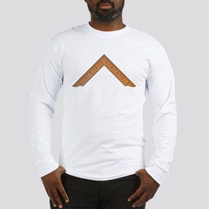 Masonic Design Centered on a Long Sleeve T-Shirt