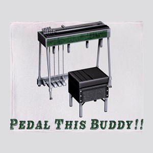 Pedal This Buddy Throw Blanket