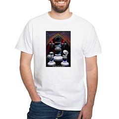 Tarot The Pope White T-Shirt