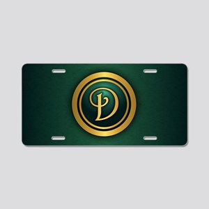 Irish Luck D Aluminum License Plate