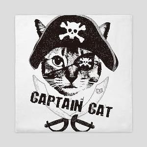 Captain Cat Queen Duvet
