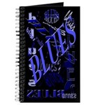 Blues on Blue Journal