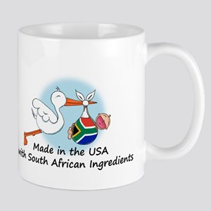 Stork Baby South Africa USA Mug
