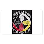 We Are A Strand Logo (black) Sticker