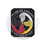 "We Are A Strand Logo (black) 3.5"" Button"