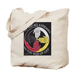 We are a Strand Logo (black) Tote Bag