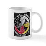 We are a Strand Logo (black) Mugs