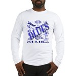 Blues on Blue Long Sleeve T-Shirt
