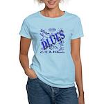 Blues on Blue Women's Light T-Shirt