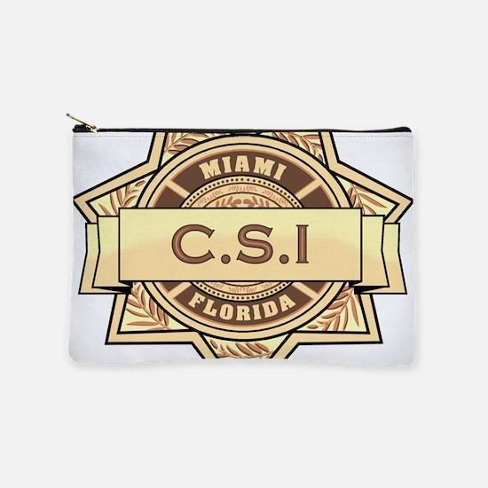 CSI Miami Makeup Pouch
